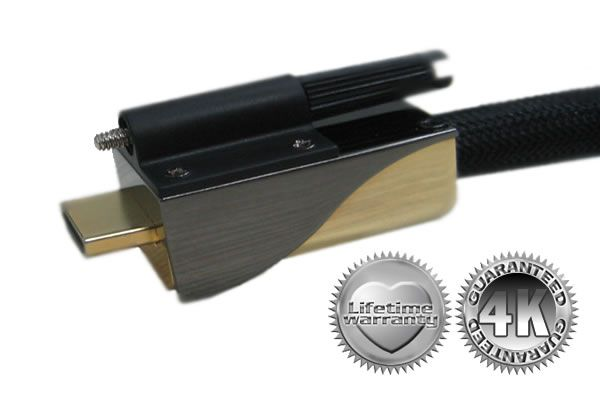 DreamScreen Stealth HDMI 1.4 4K Black CUSTOM INSTALL 40,0m