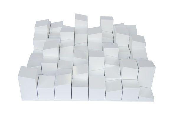 Vicoustic Multifusor Wood 64 Diffusor 60x60x14cm White 1stk