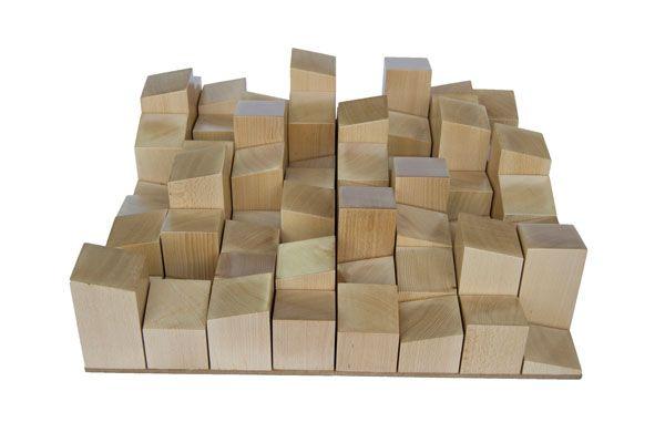Vicoustic Multifusor Wood 64 Diffusor 60x60x14cm Wood 1stk