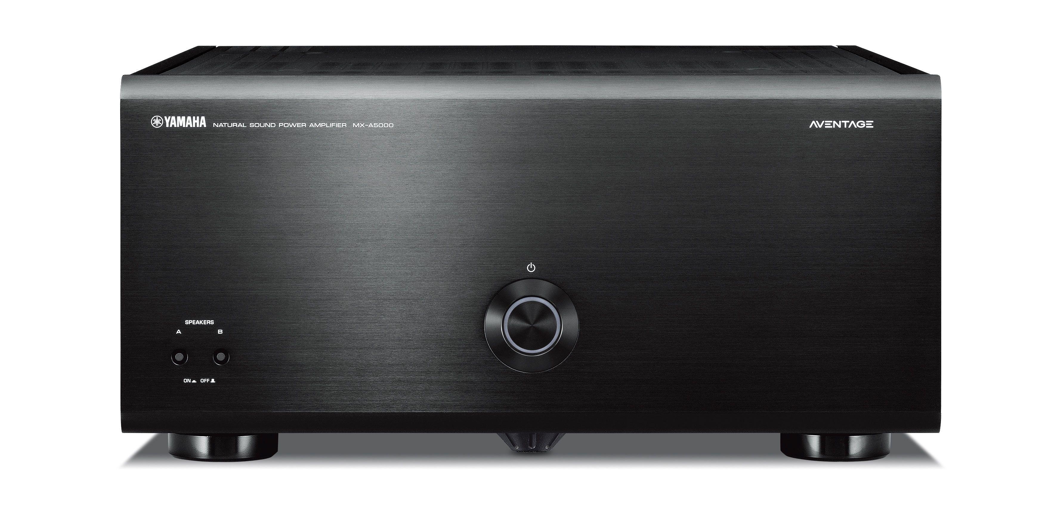 YAMAHA MX-A5000 11x290W effektforsterker sort