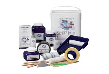 Mighty Brighty Multigain / Kontrast Kit for 6m2 / 150″ 16:9 lerret