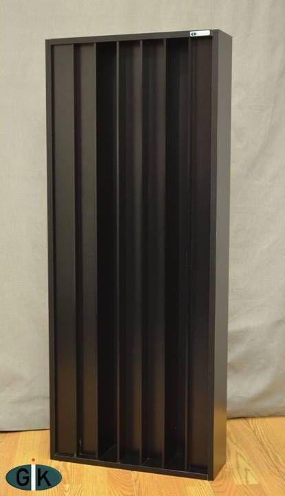 GIK Q7D QRD Diffusor 116x48x15cm Sort 1stk -DEMO!-