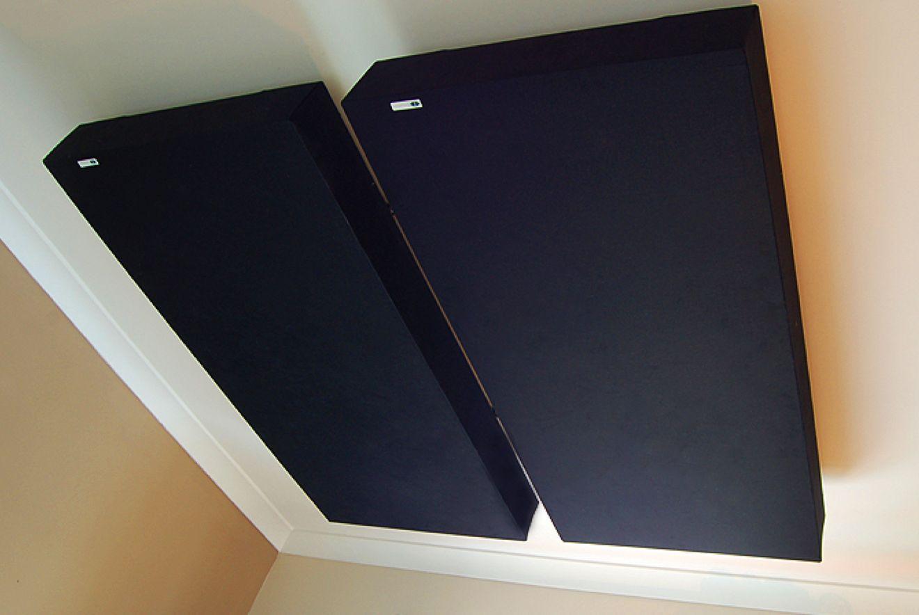 GIK 244 Bassfelle Sort med Fullrange 120x60x10cm (H/B/D) 1stk