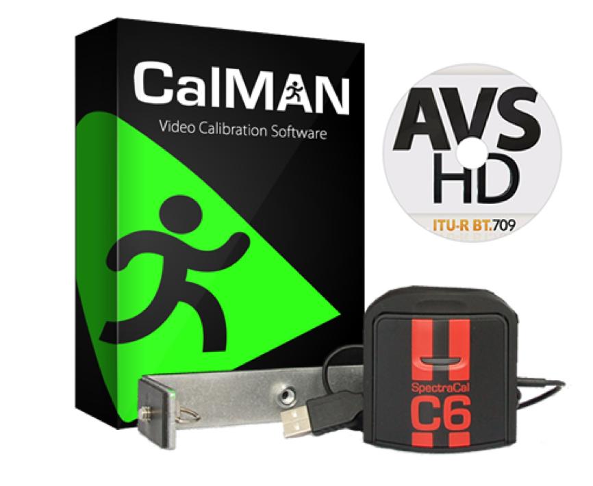 SpectraCal Calman Enthusiast kalibreringssoftware med C6 probe for kalibrering av TV og projektor