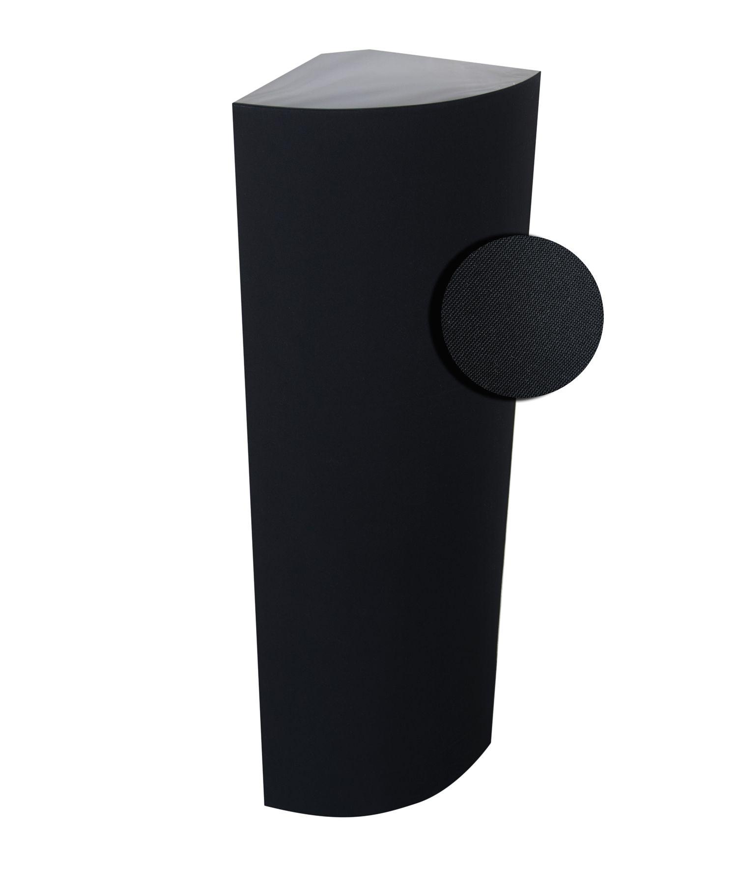 DreamScreen AcoustIQ BassTrap Corner 25x25x120cm with 400Hz Membrane Black 1stk