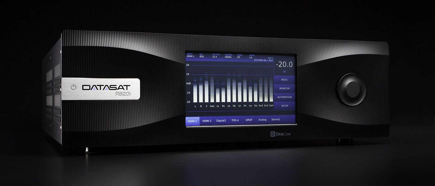 Datasat RS20i Immersive 16 (24) kanals preamp Atmos / DTS:X inkl. Auro-3D og Dirac Live -DEMO-