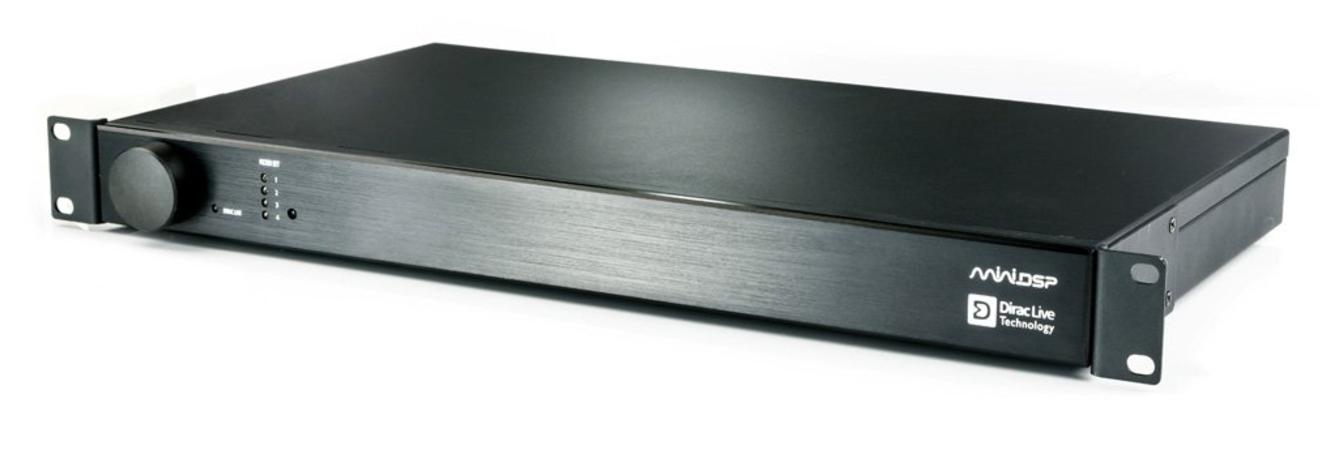 minidsp DDRC-88A Balanced DSP Kit 8×8 Ekstern med Dirac Live + Bass Management