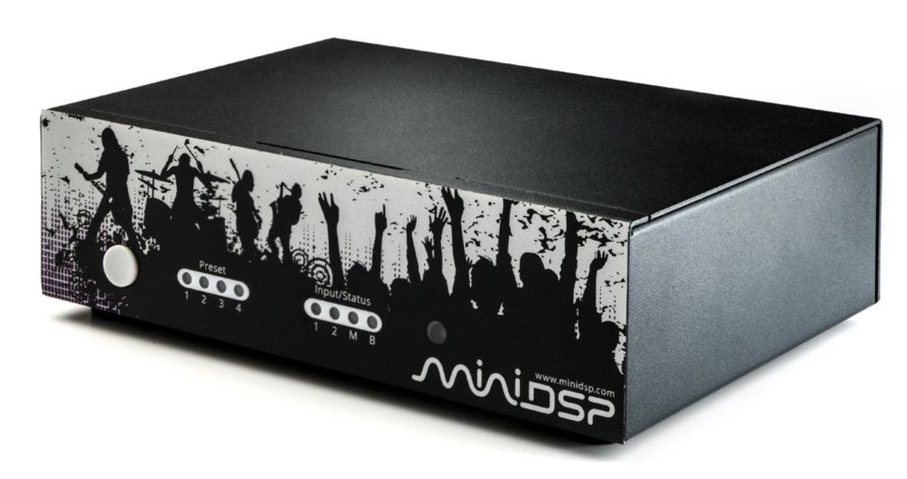 minidsp Nano AVR HD 7.1 HDMI digital + analog romkorreksjon