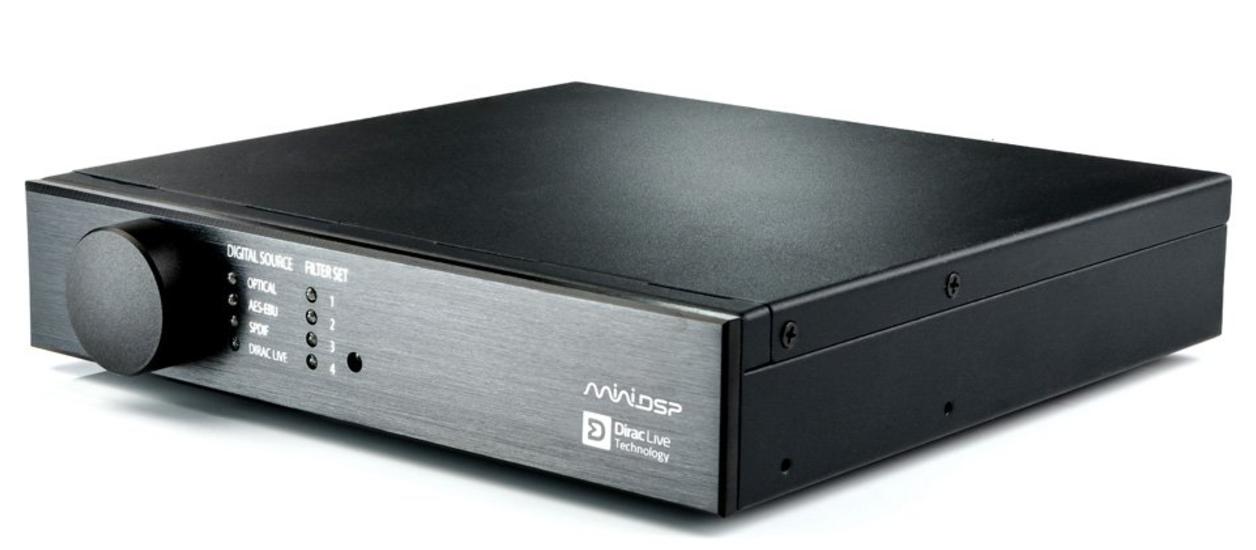 minidsp DDRC-22D DSP KIT 2X2 EKSTERN MED DIRAC LIVE OVER SPDIF/AES-EBU/Toslink