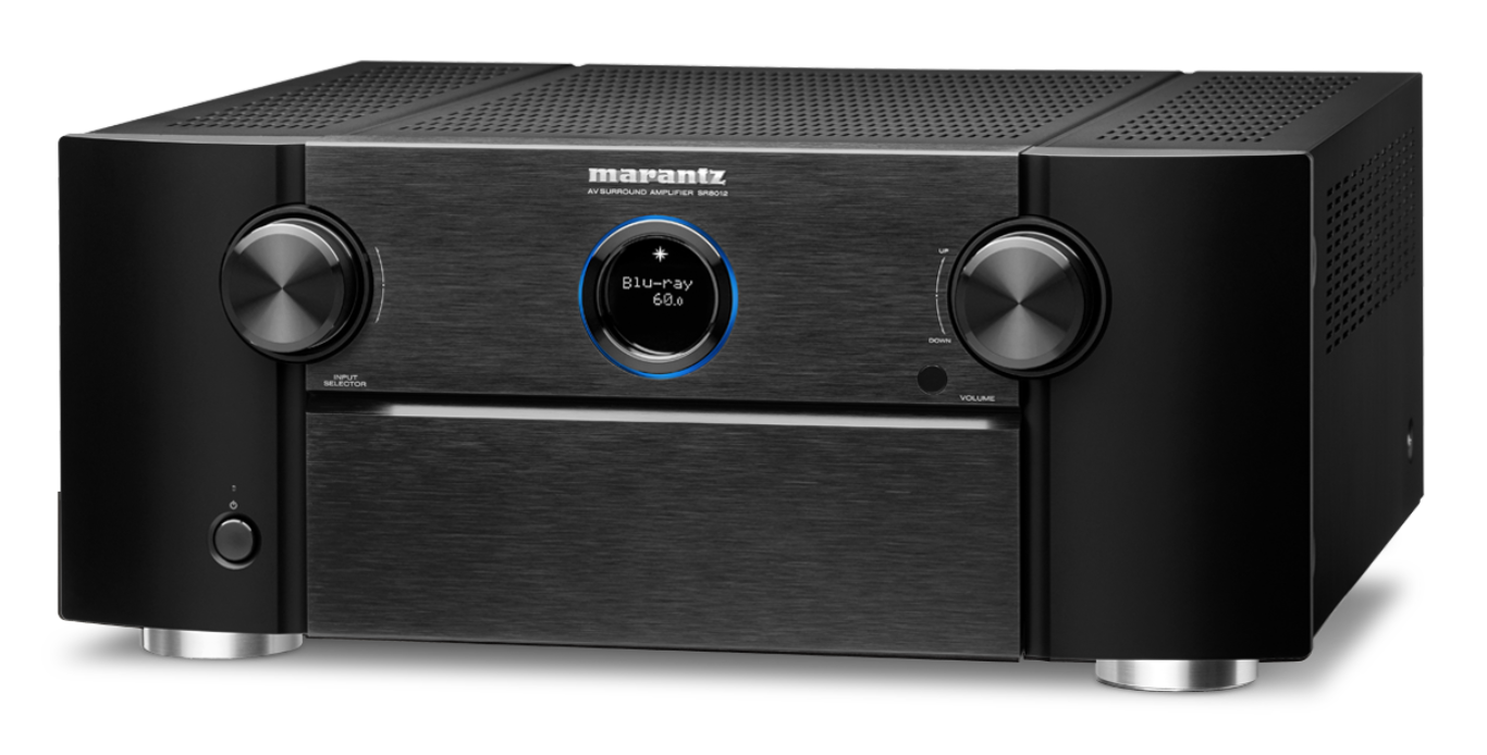 MARANTZ SR8012 11.2 ATMOS/ DTS-X/ AURO-3D HEOS SURROUND RECEIVER 4K@60P 4:4:4 SORT