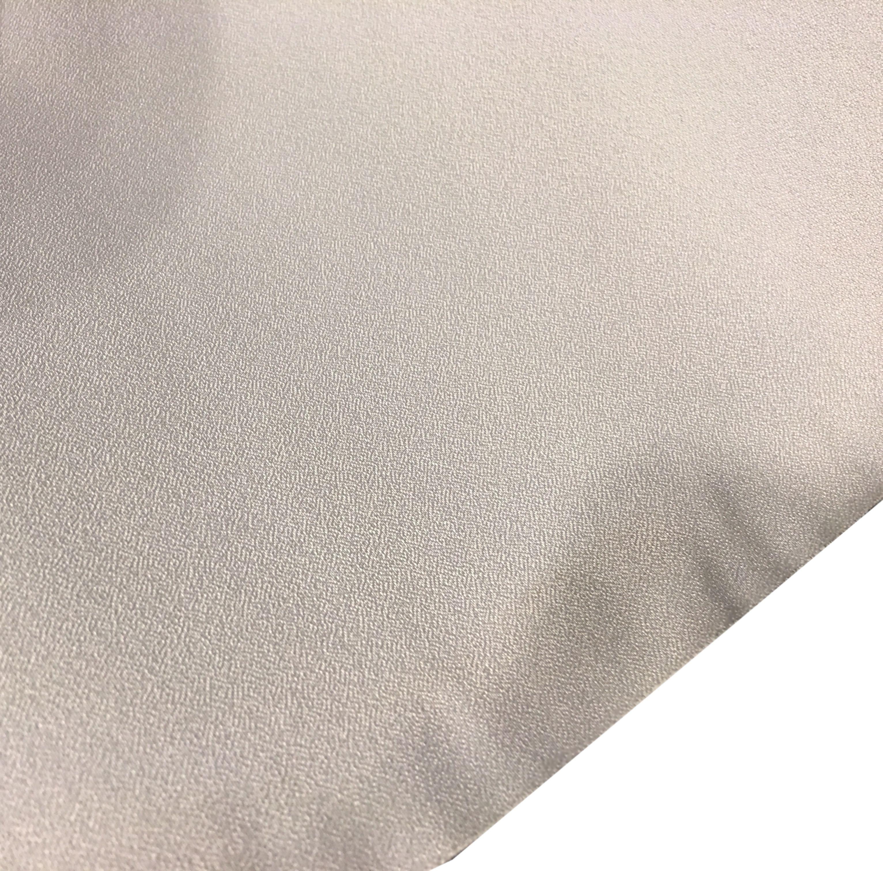 OEM Bakprojeksjonsduk 1x2m lys grå (løpemeter)