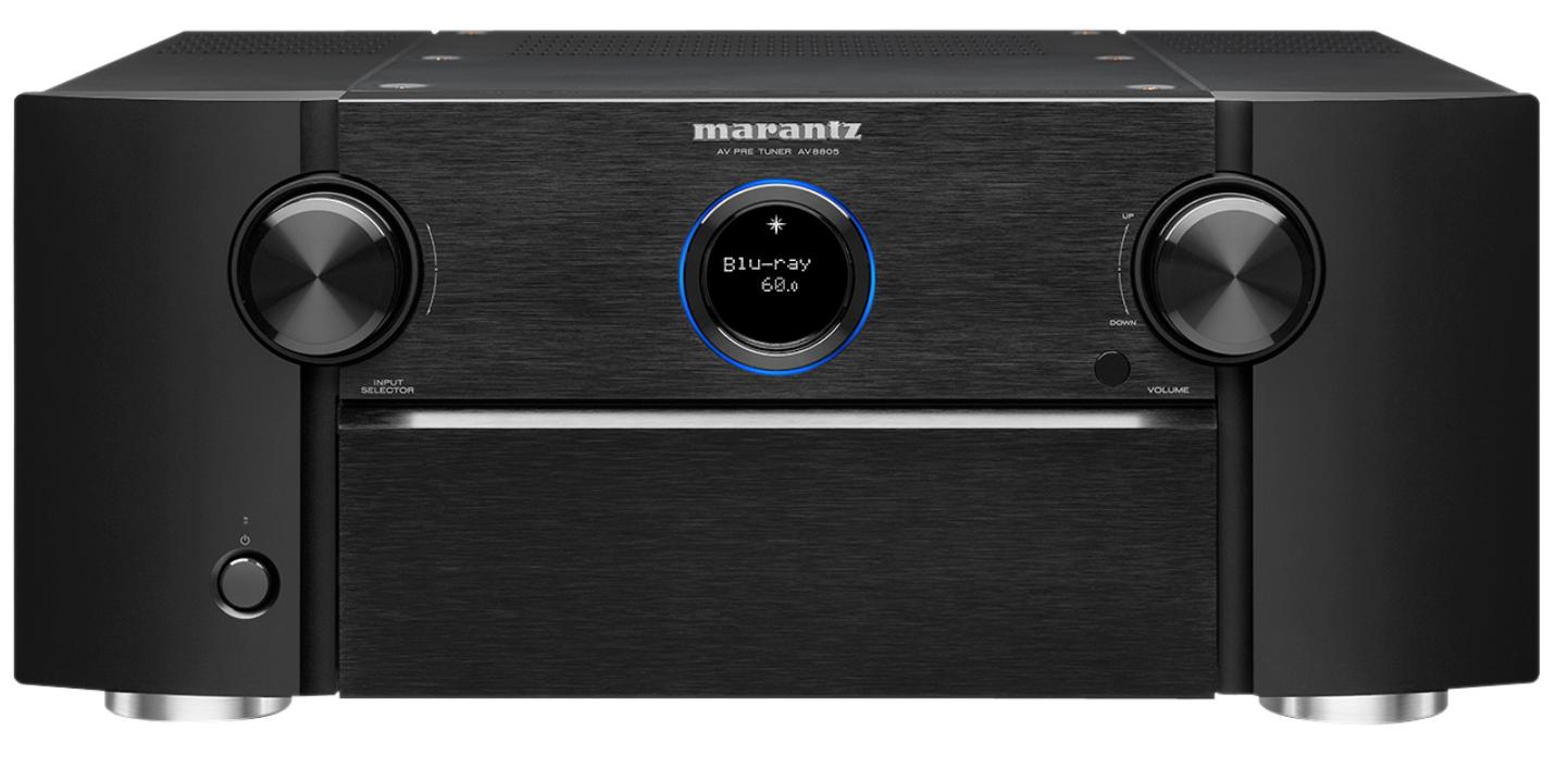 MARANTZ AV8805A 13.2 (15.2) ATMOS/DTS-X Surround Forforsterker 8K Sort
