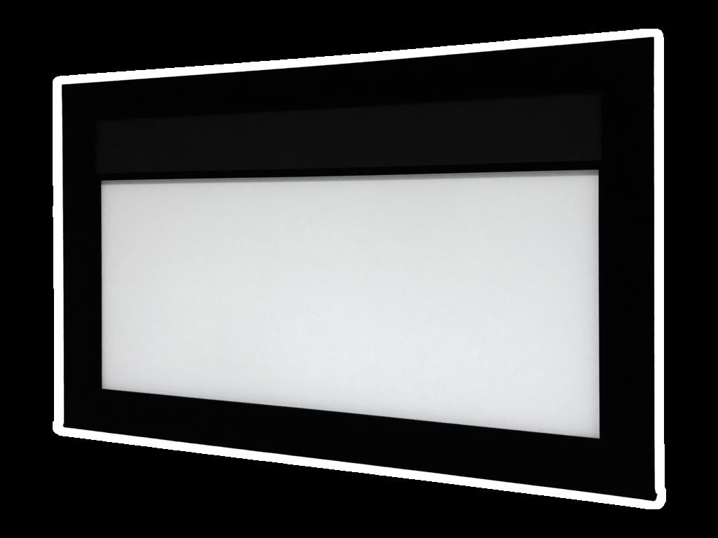 DreamScreen MOTOMASK PRO 16:9 158″ DIAGONAL / 350CM BILDEBREDDE -RAMME, DUK OG MASKERING, DEMO!-