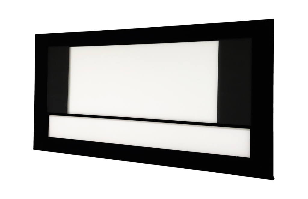 DreamScreen MOTOMASK PRO 2-WAY 2.40:1->16:9 171″ -KUN MASKERINGSSYSTEM-