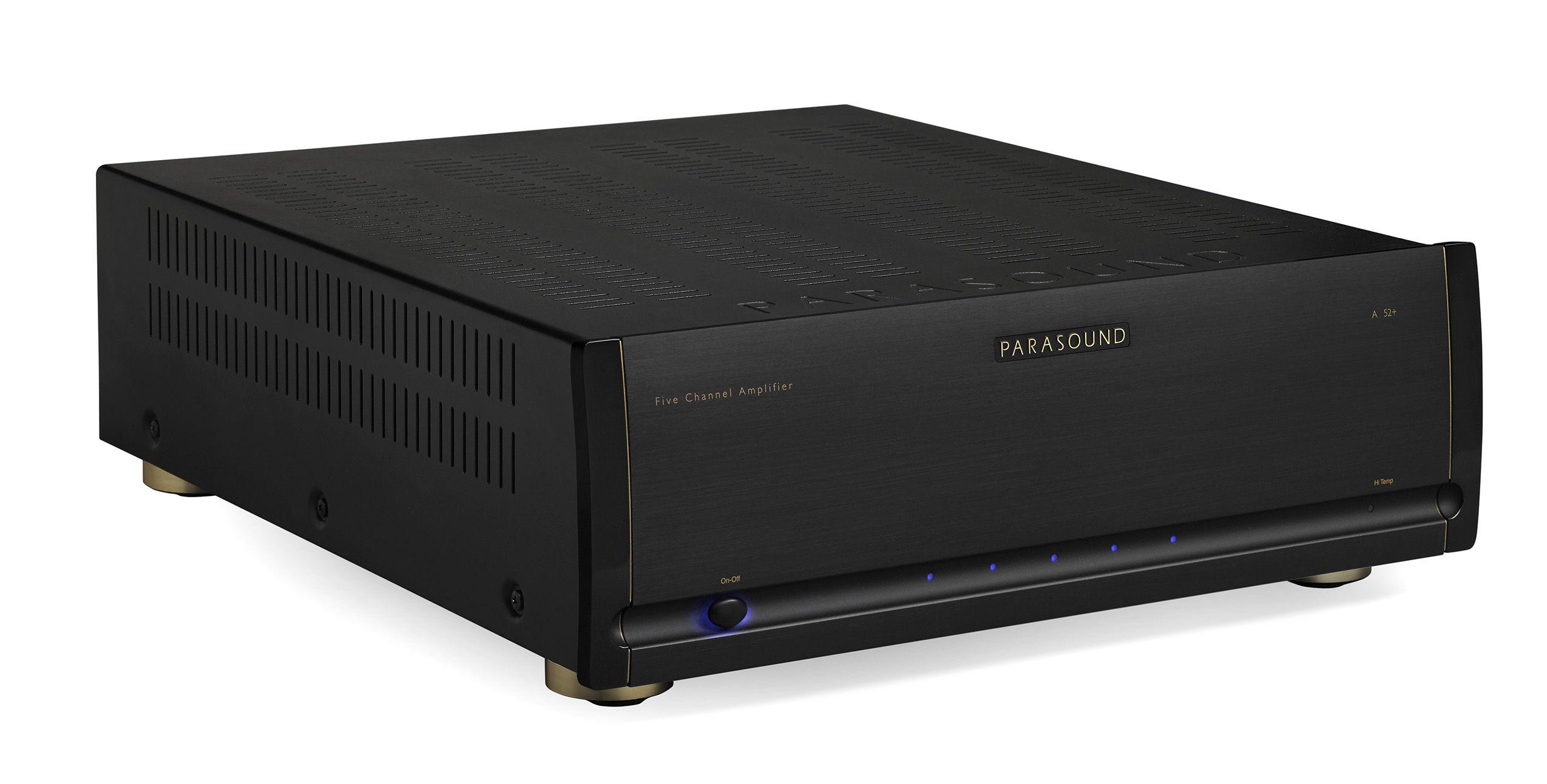 PARASOUND Halo A52+ 5x255W effektforsterker Sort