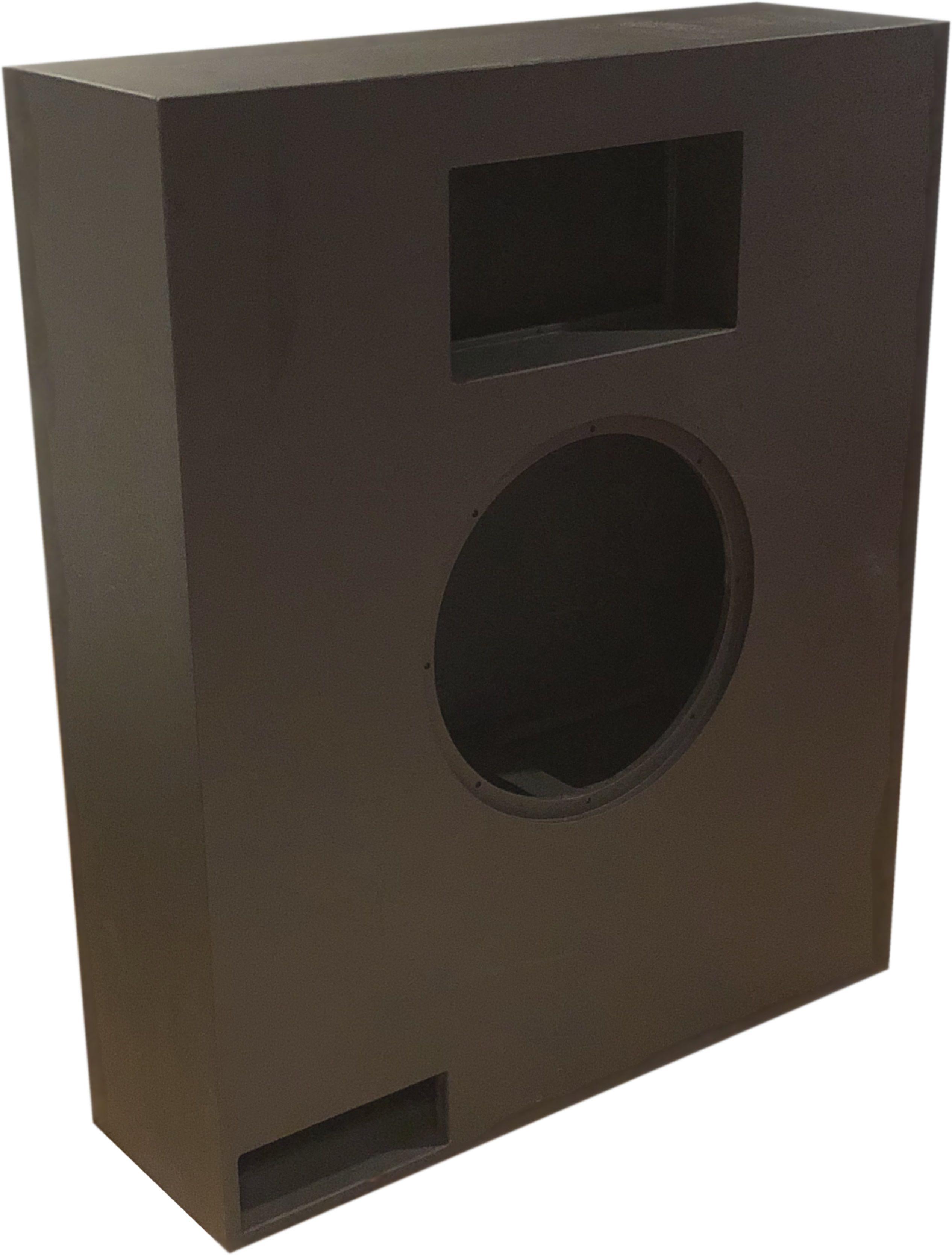 AVshop Montert kit baffelvegg subkasse for 18″ driver og Hypex amp