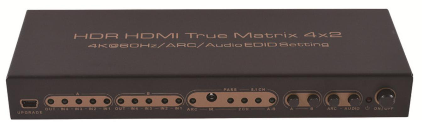 OEM 4×2 Full Matrix HDMI 2.0B (+1.4) 4K60 4:4:4