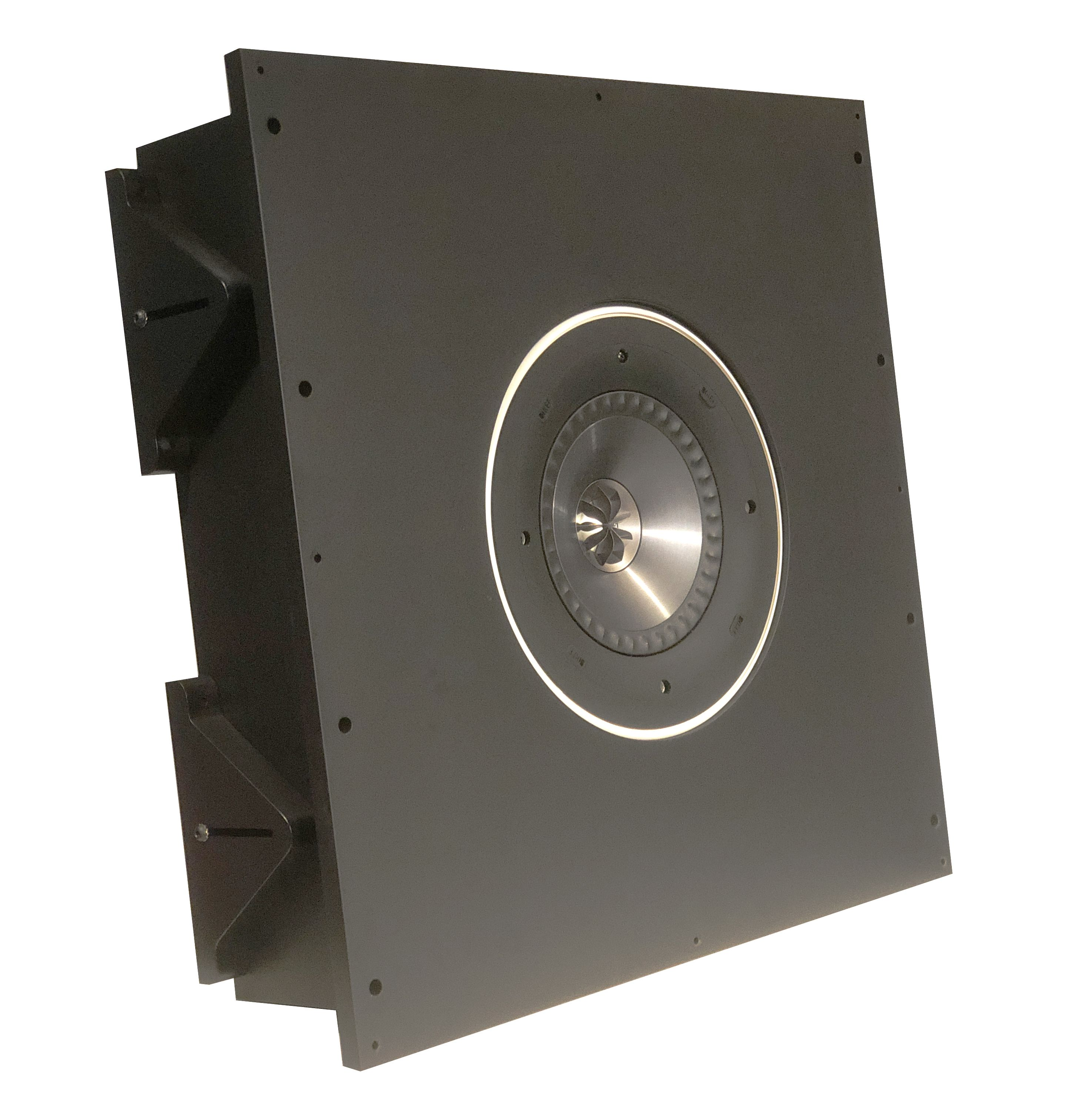 AVshop KEF custom in/on-wall / in/on-ceiling kabinett SORT -DEMO-