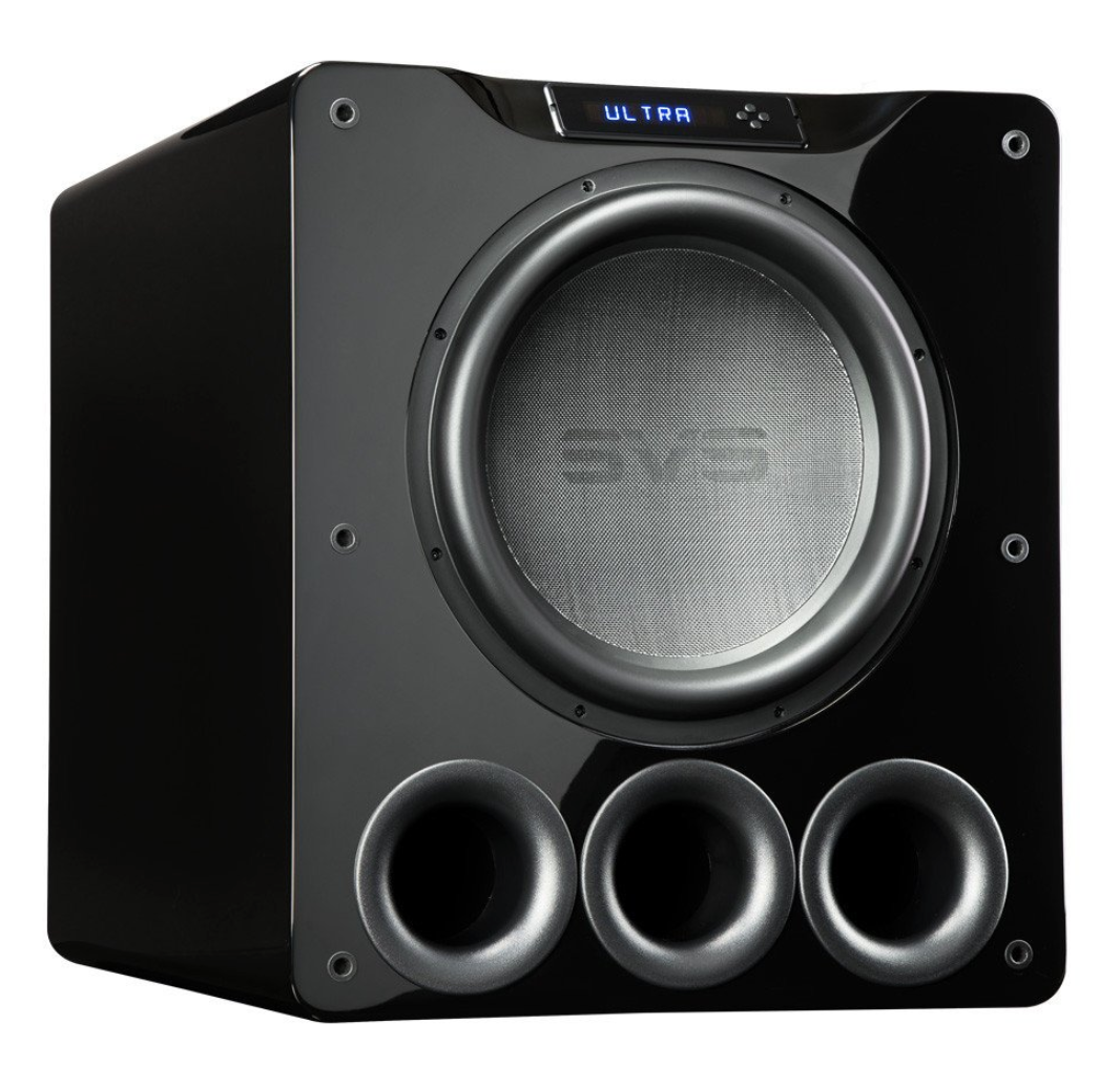 SVS PB-16 16″ 1500W Ultra Piano Gloss Black SUBWOOFER PORTET