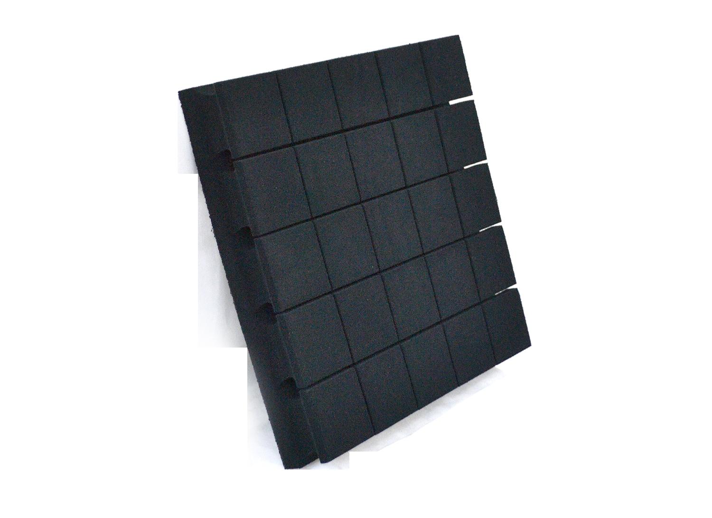 DreamScreen AcoustIQ Absorbant 50x50x7,5cm Sort 1stk