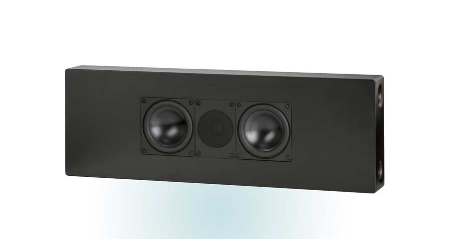 ELAC WS 1465 On-Wall / On-Ceiling Høyttaler Matt Sort (STK)