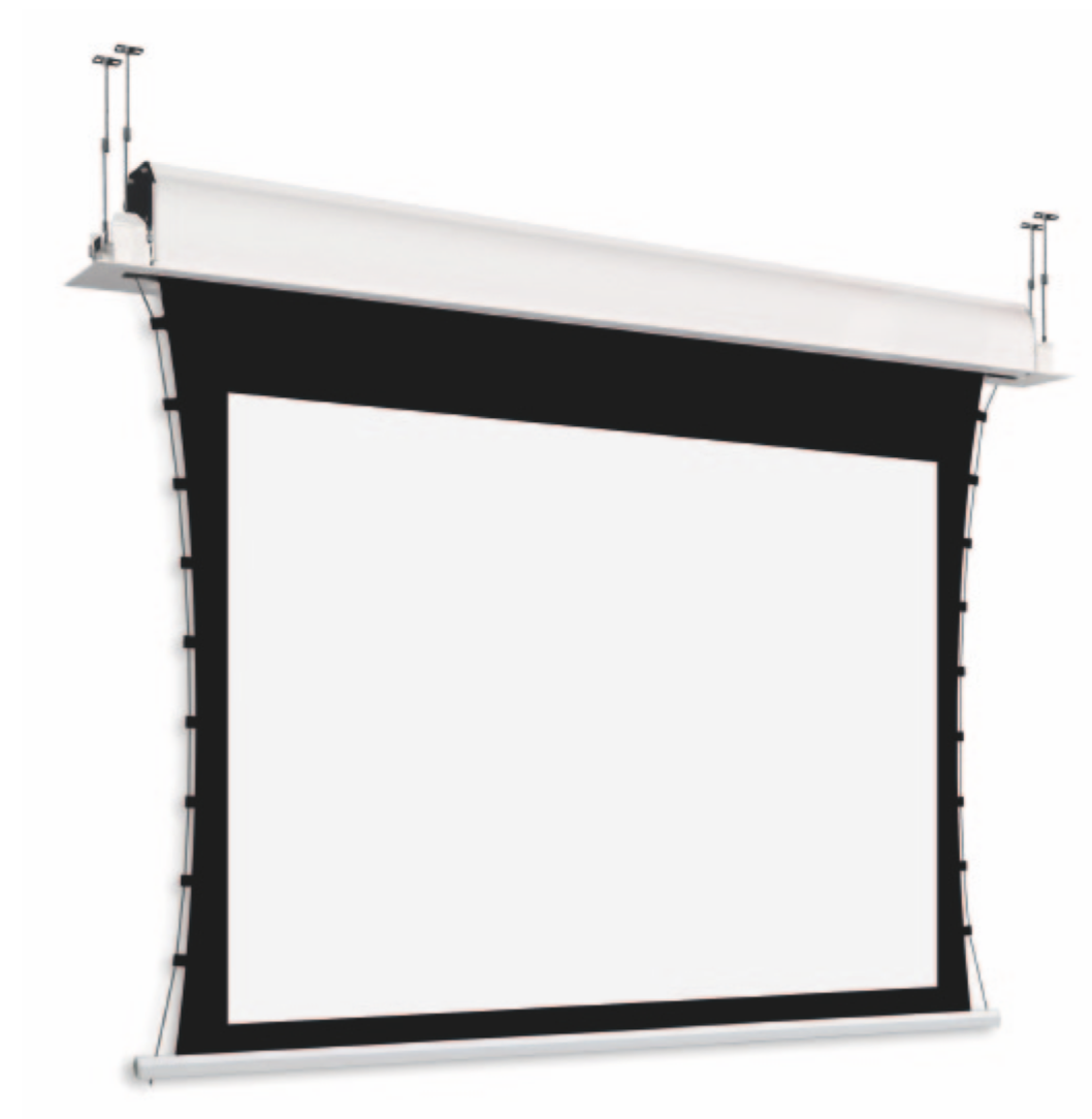 Adeo Tab In Ceiling Reference White / Grey 16:9 Custom Size