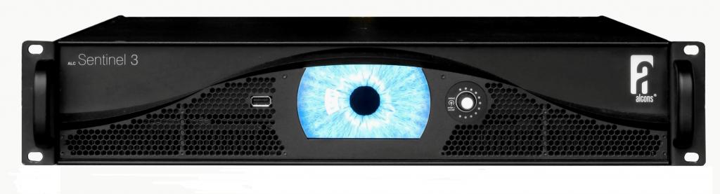 Alcons Sentinel3 4x750W Effektforsterker sort