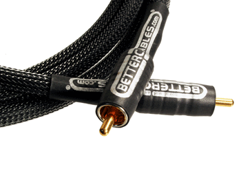 Better Cables Silver Serpent Subwoofer Cable 3m 1stk