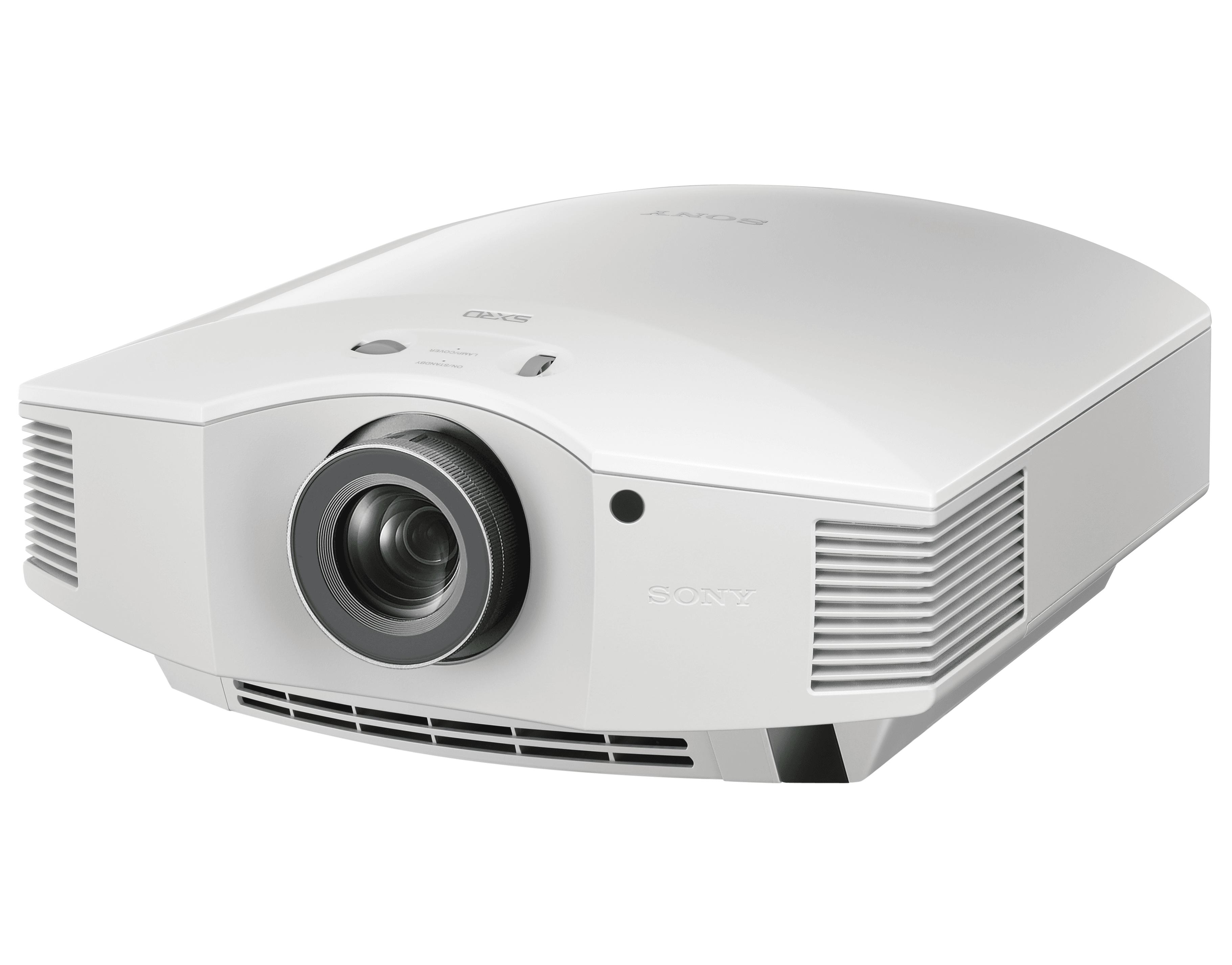 SONY VPL-HW45 SXRD PROJEKTOR FULL-HD HVIT