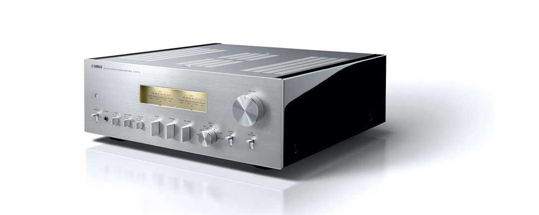Yamaha A-S2100 Integrert Stereo Forsterker Silver / Black Piano