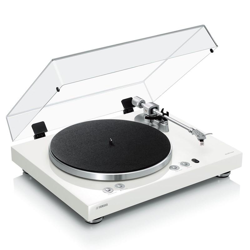 Yamaha Vinyl 500 Trådløs MusicCast Platespiller Hvit -DEMO!-