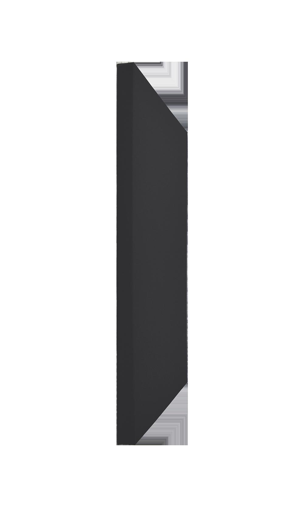 DreamScreen AcoustIQ Rectangle Absorbant 60x120x5cm Sort 1stk