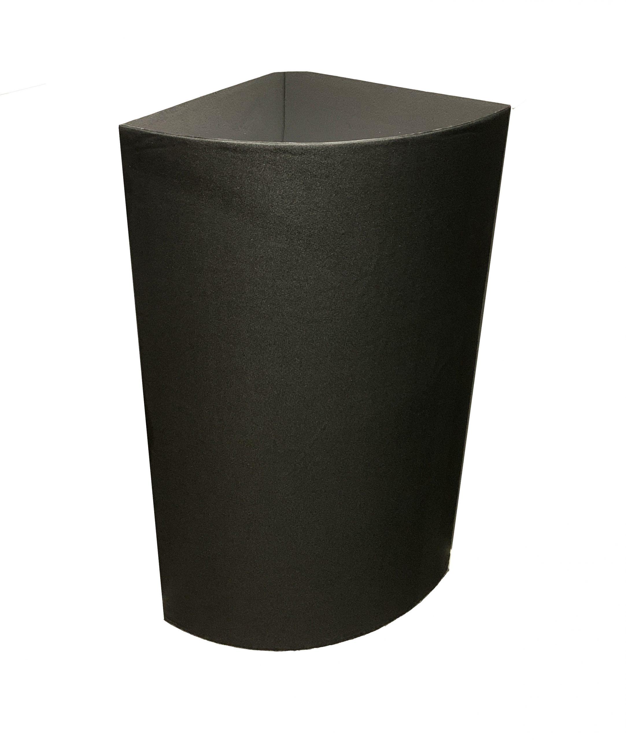DreamScreen AcoustIQ MegaBassTrap Corner 50x50x120cm with 400Hz Membrane Black 1stk