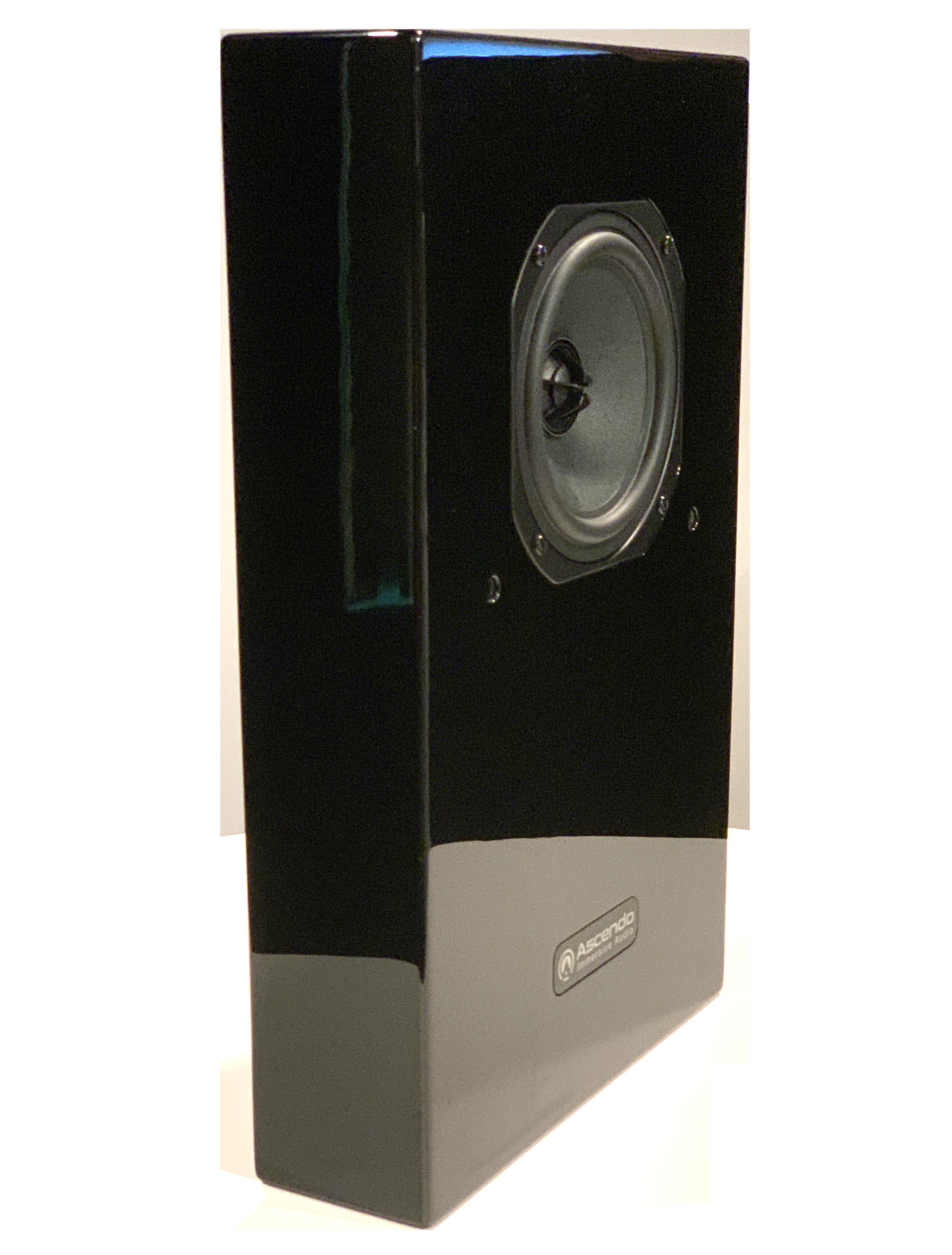 Ascendo Immersive Audio CCM5-P Passive Immersive Audio monitor Glossy Black -DEMO!-
