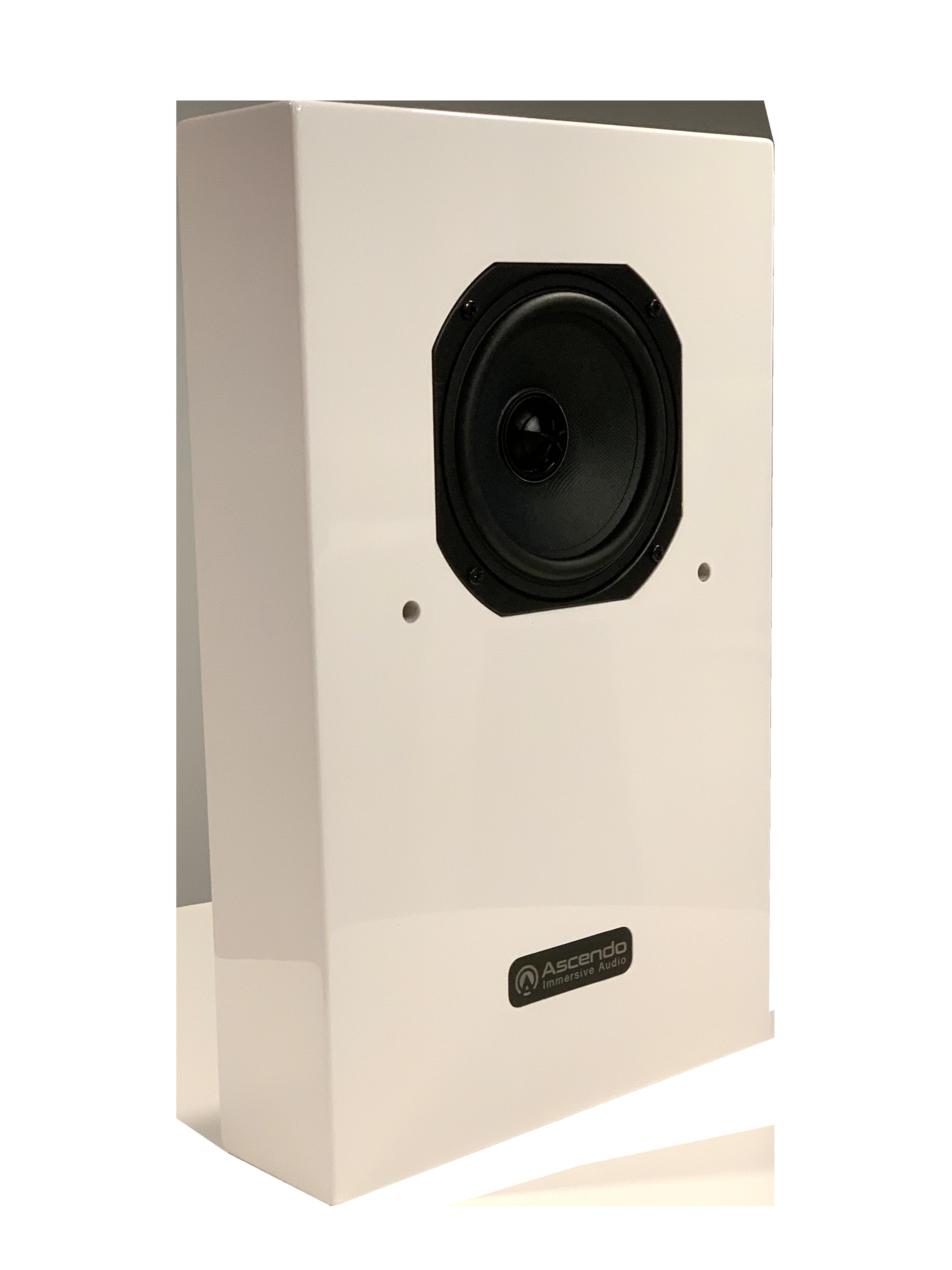 Ascendo Immersive Audio CCM5-P Passive Immersive Audio monitor Glossy White -DEMO / B-VARE!-
