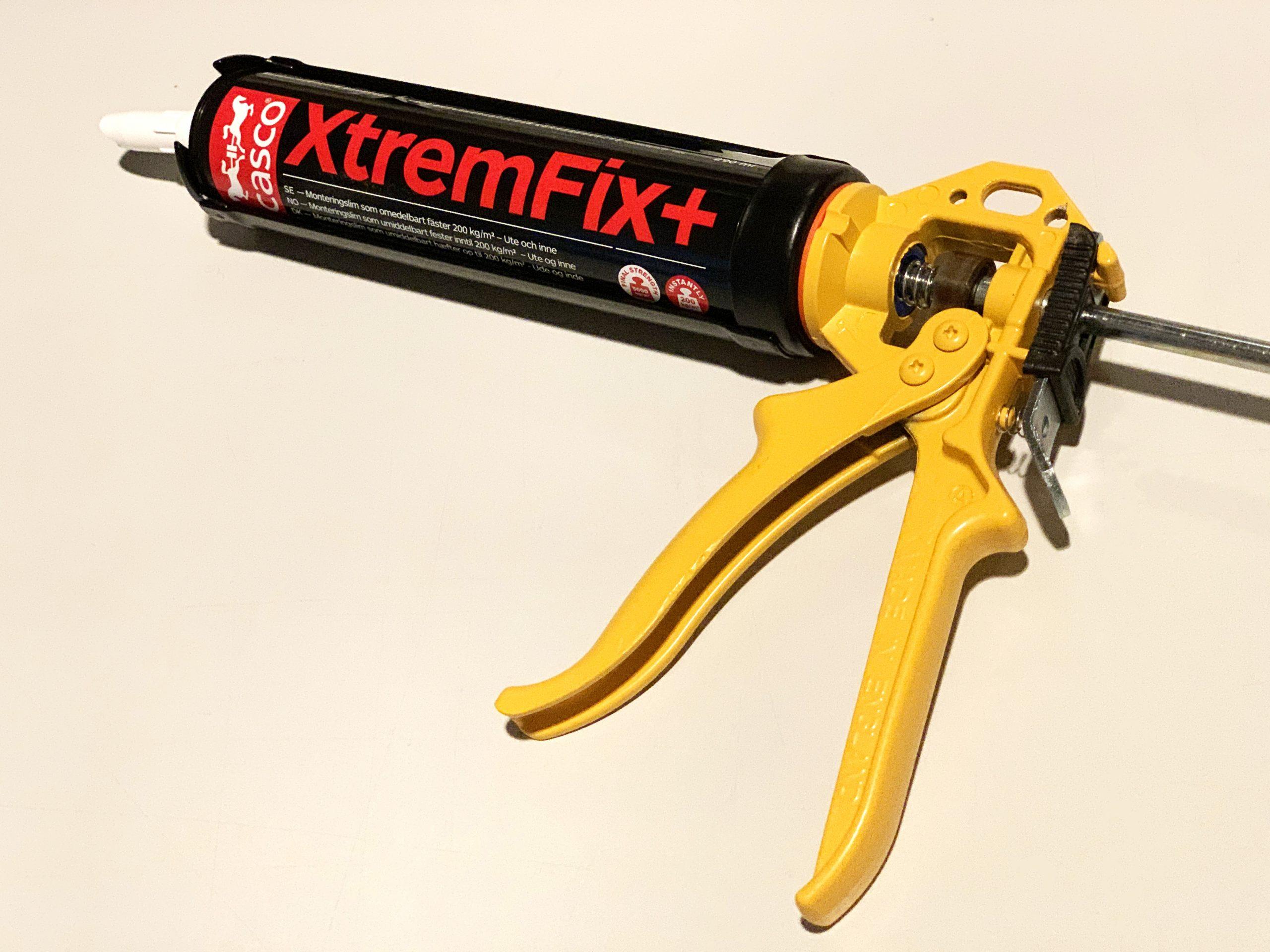 Sika proff fugepistol for Casco XtremFix lim