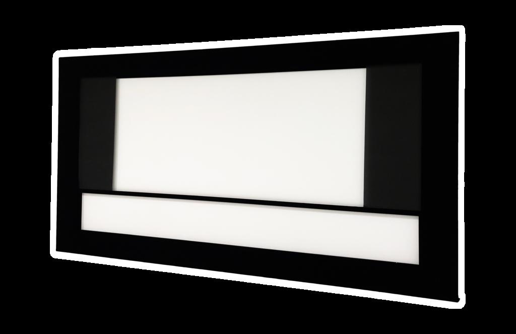 DreamScreen MOTOMASK PRO 2.40:1 122″ DIAGONAL / 285CM BILDEBREDDE -RAMME, DUK OG MASKERING, DEMO!-
