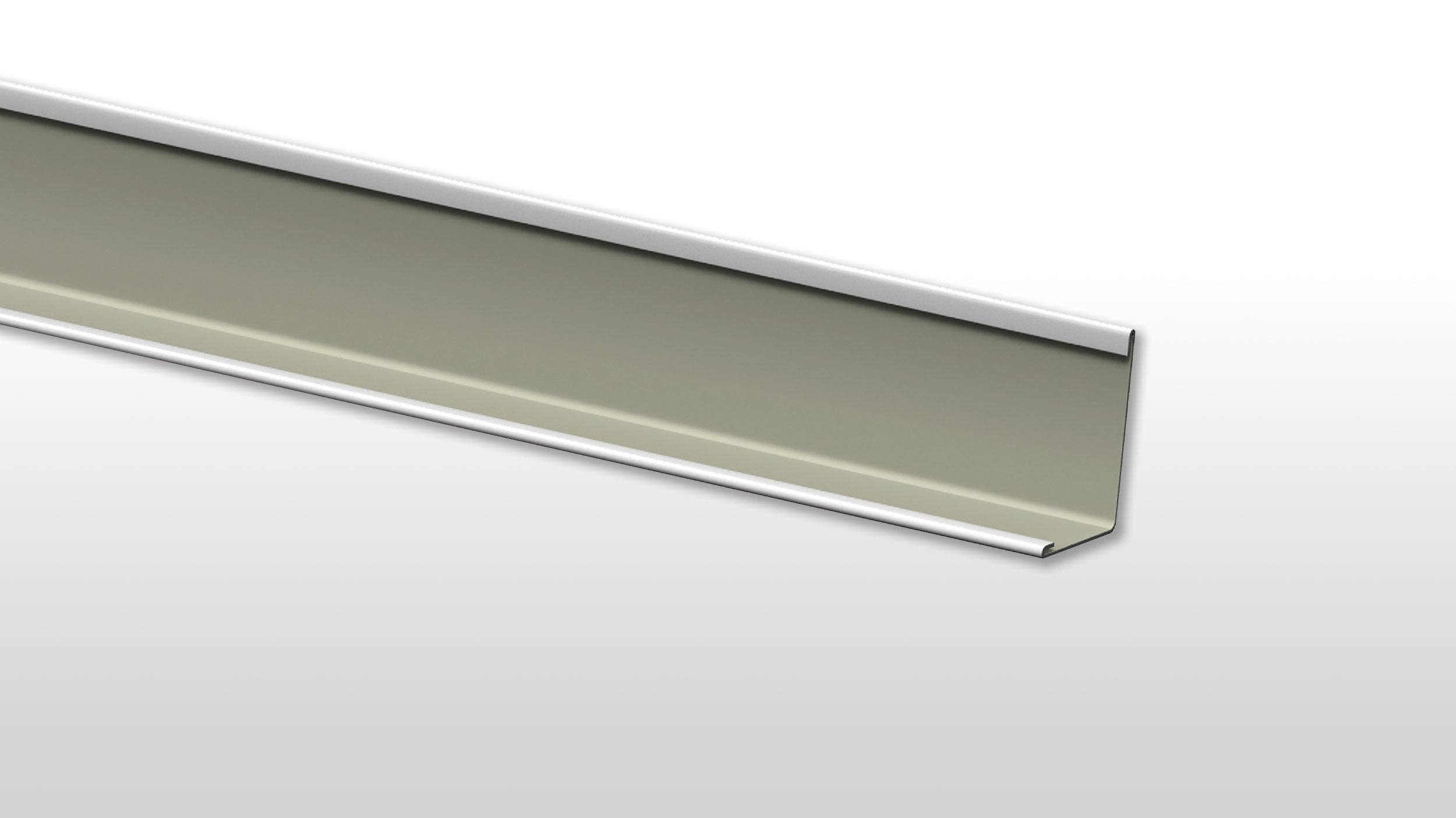 Rockfon Chicago Metallic Kantprofil 24/24 hvit 305cm 20stk